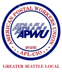 APWU Greater Seattle logo